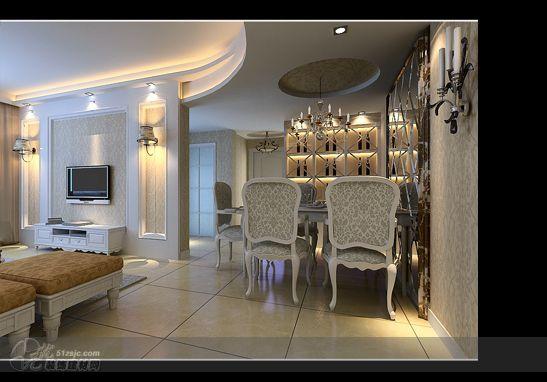 天鹅湖畔欧式效果表现01 作品 效果图,实景图,样板间,建筑设计