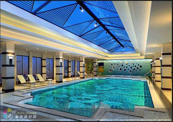 太原洗浴中心装修设计 维度装修设计作品 效果图,实景图,样板间,